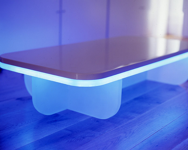 Electrowerkz Lacquered Table