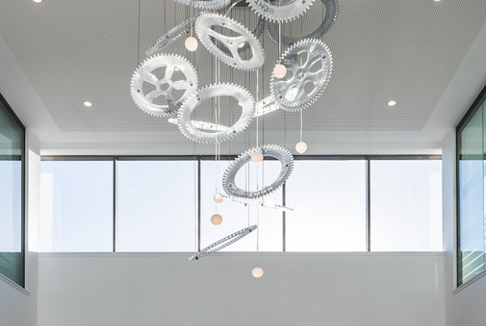 Volkswagen – Reception Chandelier – Acrylicize