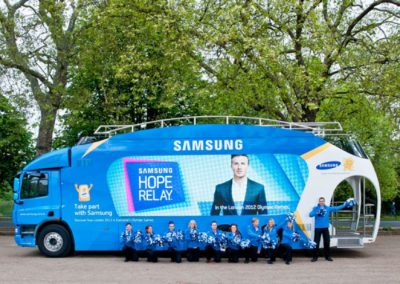 Samsung – Olympic Torch Relay Vehicle