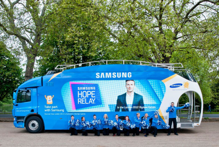 Samsung, Olympic Torch Relay Vehicle