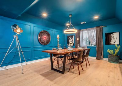 Dining room by Ben Rousseau Designs