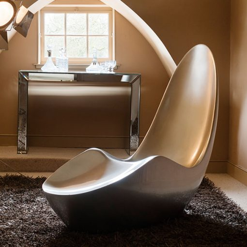 Rousseau Caillou Chaise Silver
