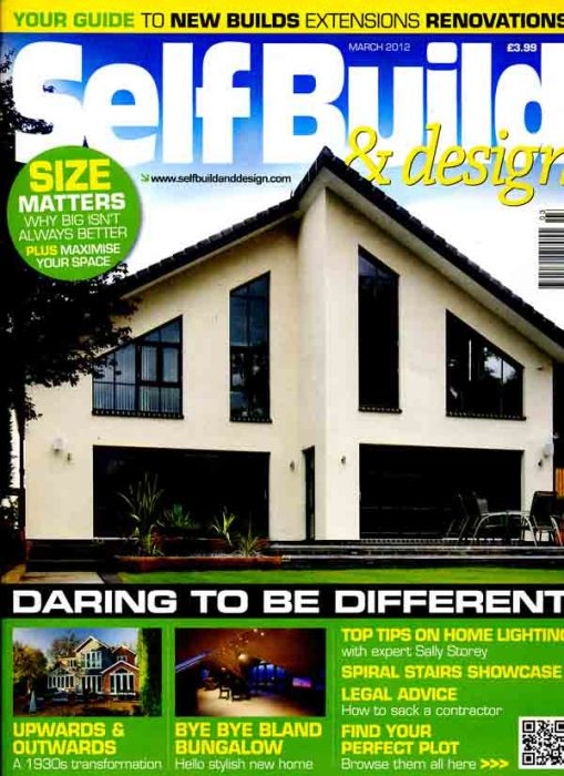 Self Build and Design Mar 2012