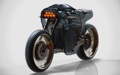 Electric Cafe Racer Concept