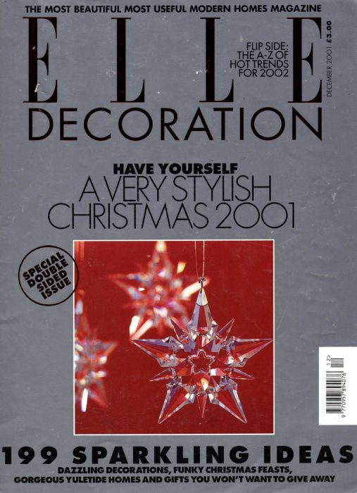 Elle Decoration Dec 2001