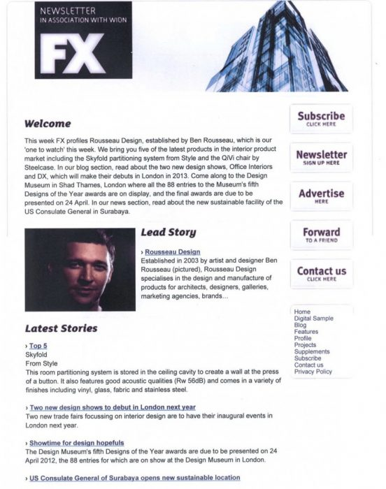 FX Newsletter May 2012
