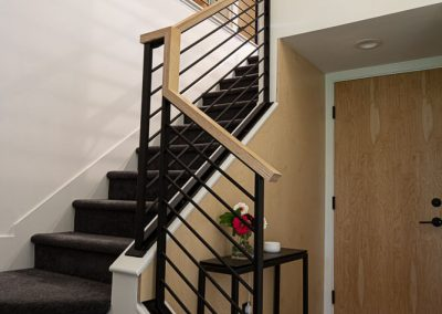 stairway at Japantown project - Ben Rousseau Designs