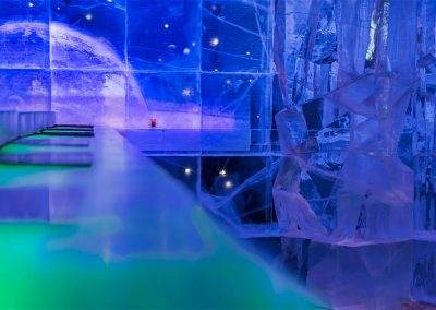 Galactic Frontiers bar at Ice Hotel - Ben Rousseau and Ake Larsson