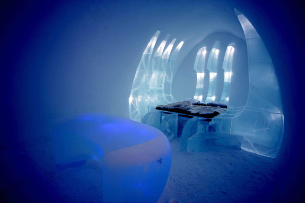 """""""Operation Blade"""" Ice Hotel Suite"""