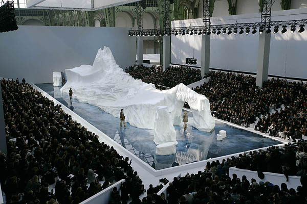 Chanel Iceberg Catwalk