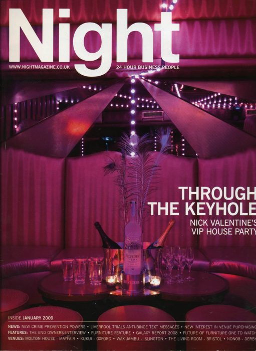 Night Magazine Jan 2009