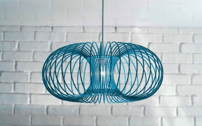 Teal Torus Light