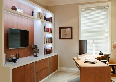 office number 2 in Surrey residence designed by Ben Rousseau
