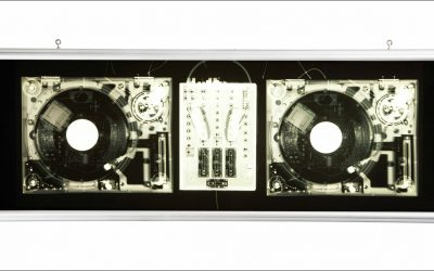 Technics 1210 Turntable Xray Lightbox