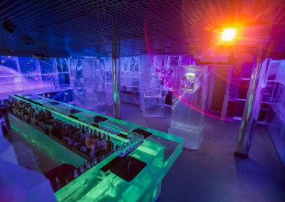 """Galactic Frontiers"" Ice Bar – London"