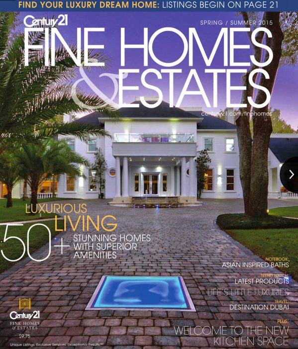 Century 21 Fine Homes & Estates Spring/Summer 2015