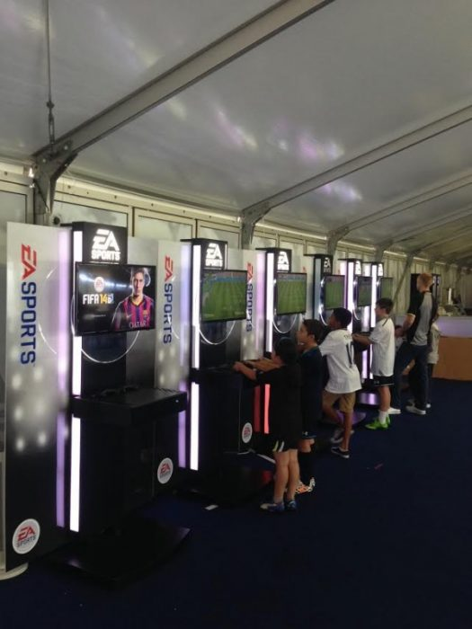 EA Gaming Pods