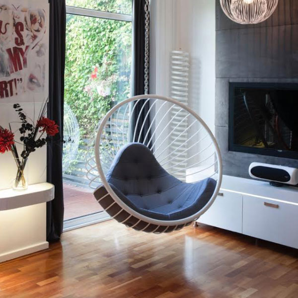 Wire Bubble Chair Hanging