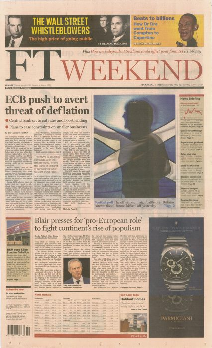 Financial Times May-June 2014
