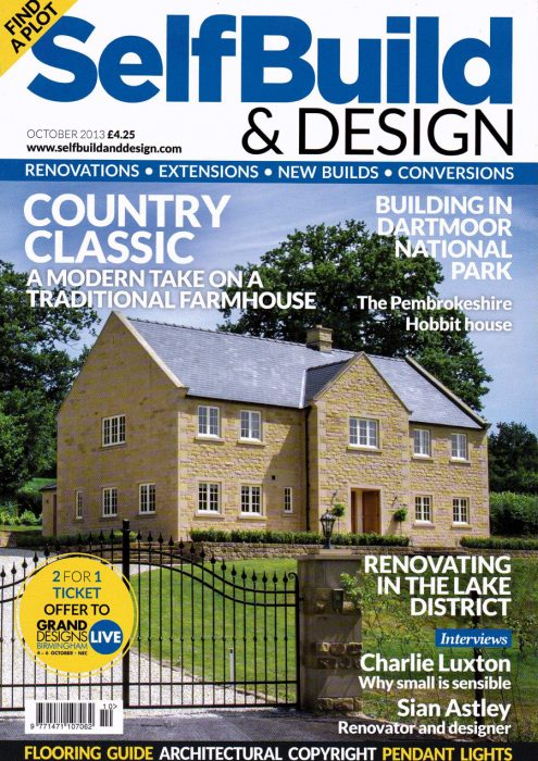 Self Build and Design Oct 2013